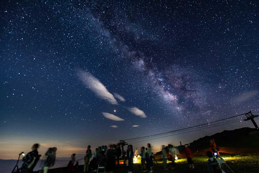 天空の天体ショー&流星群観察会