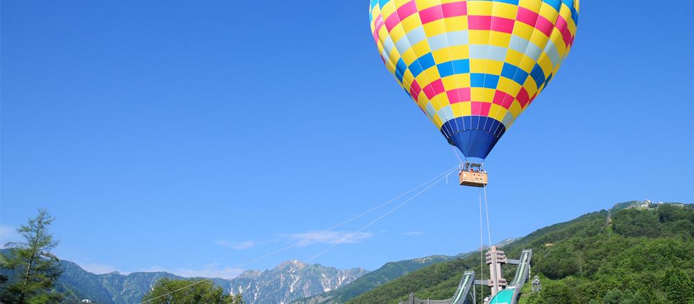 熱気球体験(係留体験)